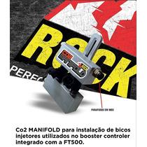 Co2 Manifold Suporte De Bico Para Booster Controler Ft500