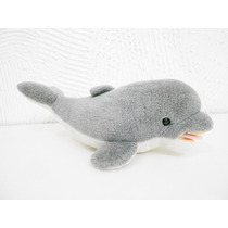 Boneco Golfinho De Pelúcia Grande 42cm #pelucia #seaworld