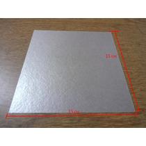 Placa De Mica Para Forno Microondas 15 X 15 Cm Frete Barato