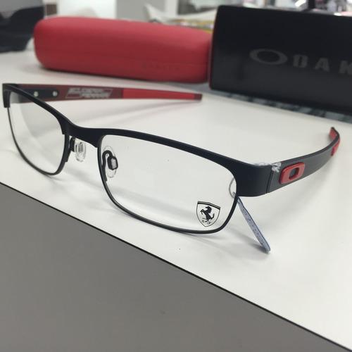 576e3a8e26 Oculos Receituario Oakley Ferrari Carbon Plate Ox5079-0453
