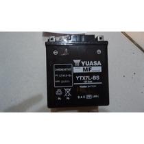 Bateria Yuasa Ytx7-bs Honda Biz 125