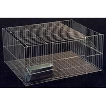 Gaiola Para Coelho, Hamster, Roedores, 80x60x35