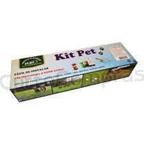 Kit Cerca Elétrica Para Cães, Galinhas, Coelhos E Outros