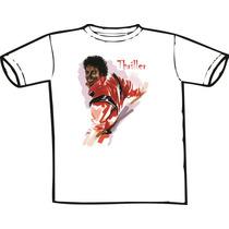 Camiseta Michael Jackson -thriller (chega De Mesmice)