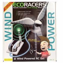 Carrinho Movido A Energia Do Ar Controle Remoto Eco Racer