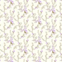 Papel Floral Lilás
