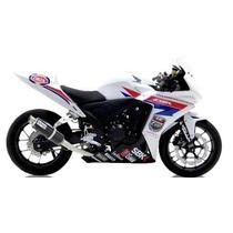 Ponteira Leo Vince Honda Cbr500r / Cb500x / Cb500f Gp Corsa