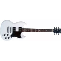Guitarra Shelter Detroit Det305 Sg Branca, 09647