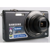 Câmera Digital Samsung Sh100 Wifi Preta