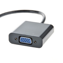 Cabo Adaptador Ligar Tablet Ou Pc Mini Hdmi Data Show Vga Nf