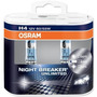 Lâmpadas H4 Osram Night Breaker Unlimited 3900k Par 110% Luz
