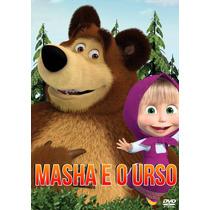 Dvd Masha E O Urso Vol 1, 2 E 3 - 3 Dvds Promoção