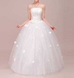 f6bae43f1 Vestido De Noiva E De Baile De 15 Anos - Maneq 34 A 42. R  550