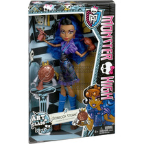 Monster High Aula De Arte Robecca Steam - Mattel