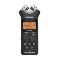 Gravador Digital Tascam Dr 07 Mkii Portátil Novo Dr07