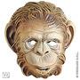 Kids Animal Costume - Máscara De Plástico Macaco Gorila Ex