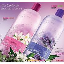 Baby Smell Ou Lavanda 1litro Perfume Banho Refrescante Avon