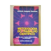 Metodologia Do Trabalho Científico, Antonio Joaquim Severino