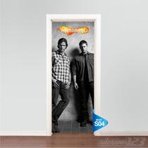 Adesivo Porta Serie Tv Supernatural Dean Sam Winchester S04