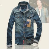 Camisa Jeans Masculina Scotch&soda - Pronta Entrega