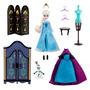 Elsa Boneca Guarda Roupa Acessórios Disney Original No Br