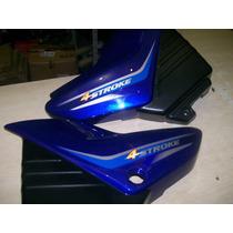 Par De Carenagem Tampa Lateral (2 Peças) Yamaha Ybr 125 Azul