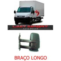 Retrovisor Iveco Daily Le Ano 08 A 15 Braço Longo Manual