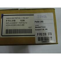 Pistao Aneis Focus/eco/mondeo Duratec 2.0 16v Std Gasolina