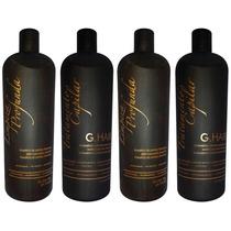 2 Kit G Hair Inoar Escova Progressiva Marroquina (4 X1litro)