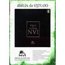 Bíblia Nvi De Estudo - Editora Vida - Frete Grátis