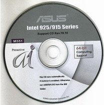 Cd Drivers Original Placa Mae Asus P5ad2