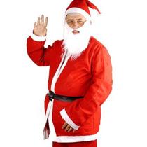 Roupa Fantasia Papai Noel Touca Gorro Natal