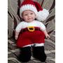 Roupinha Newborn Papai Mamãe Noel - Bebê Fotografia Crochê