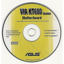 Cd Drivers Original Placa Mae Asus Via Kt600 Series