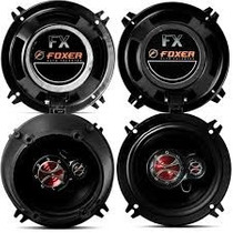 Kit Alto Falante Volks Gol 4p G2 G3 G4 Triaxial 50w Rms 4 Pc