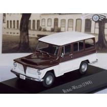 Miniatura Rural Willys 1/43 Carros Inesquecíveis Do Brasil