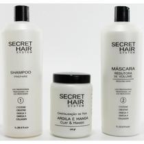 *oferta De Natal* Kit Progressiva Secret Hair - Frete Grátis