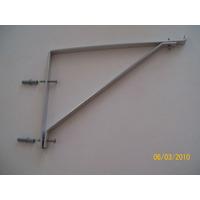 Suporte Prateleira Em Alumínio Natural 5/8 X4,76mmx300mm