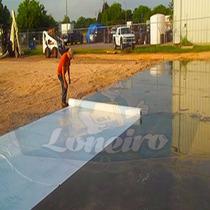 Lona P/ Barreira De Vapor Contenção Piso Industrial 50x2,2 M