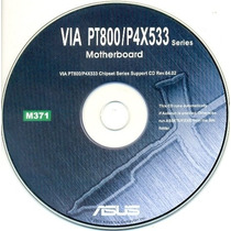Cd Drivers Original Placa Mae Asus Via Pt800 / P4x533 Series