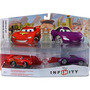 Playset Carros Disney Infinity 1.0 - Cars Mcqueen + Holley