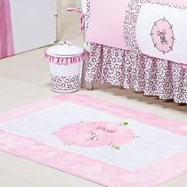 Tapete Para Quarto De Bebê Menina Conforto Bailarina 1 Peça