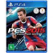 Jogo Pro Evolution Soccer Pes 2015 Para Playstation 4 Ps4