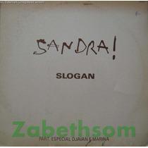 Sandra De Sá - Slogan Lp Mix / Djavan Marina Lima - Rca 1990