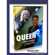 Dvd Queen, Rod, Holwwood, Metallica Rock In Rio 2015 + Plant