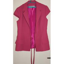 Conjunto Social De Capri E Blusa Rosa Nº 38- Rf123