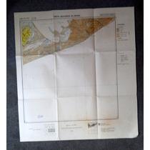 Mapa Lagoa Feia E Xexé Região Dos Lagos Rio De Janeiro 1954