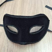 Máscara Veneza Veludo Masculino
