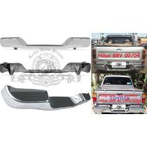 Parachoque Traseiro Toyota Hilux Srv/sr5 Novo Completo.