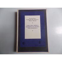 Livro Para Uma Critica Marxista Da Teoria Psicanalítica